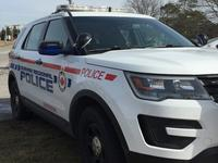 Durham region police car