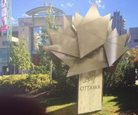 Artist's rendition of the Ottawa 2017 cauldron a Ottawa City Hall.