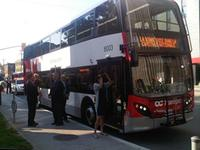 OC Transpo double decker bus