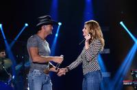 Tim McGraw and Faith Hill at the 2014 CMA Festival