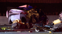 Photo of car involved in fatal crash