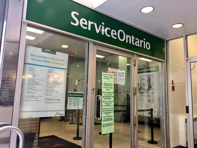 Computer Glitch Stops Vehicle Driver Licence Services At Service Ontario Branches