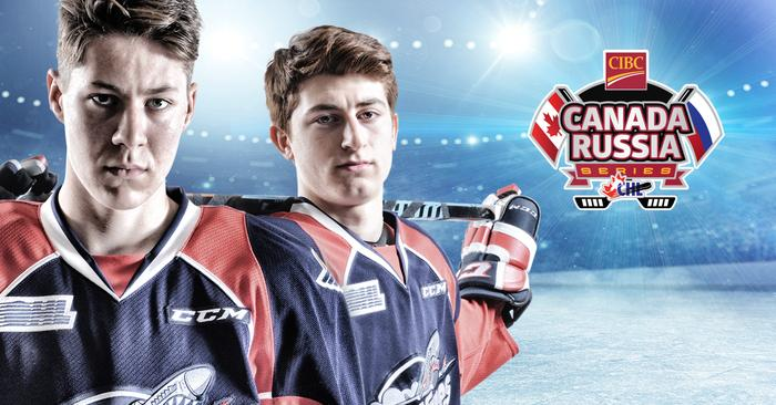 Stanley And Vilardi To Represent Spits In Canada-Russia Series