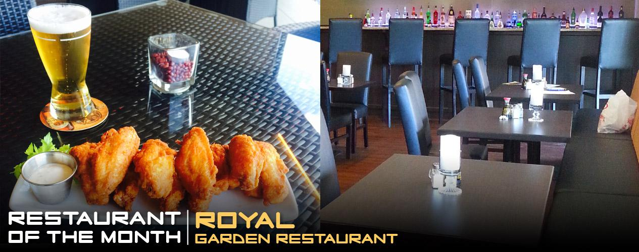 Restaurant of the Month - Royal Garden