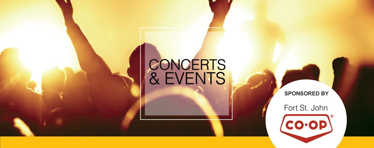 Concerts & Events Header