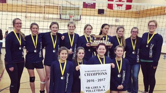 Centennial Christian Girls Win Zone Volleyball Title; Boys ...