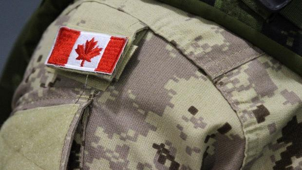 Canadian Forces uniform camouflage