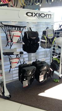 Backpacks and Bike Bags There are back packs for hiking, biking, and snowshoeing!