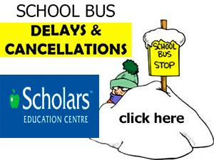 Bus cancellations - Scholars - Energy