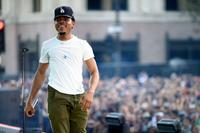 Chance The Rapper performs on the Dylan Stage during day 2 of the 2014 Budweiser Made in America Festival at Los Angeles Grand Park on August 31, 2014 in Los Angeles, California.
