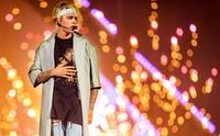 Justin Bieber performs during the 2016 Purpose World Tour at Staples Center on March 20, 2016 in Los Angeles, California.