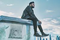 The Weeknd sporting the new Puma shoes