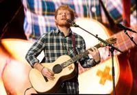 Recording artist Ed Sheeran performs onstage during Rock in Rio USA at the MGM Resorts Festival Grounds on May 15, 2015 in Las Vegas, Nevada.