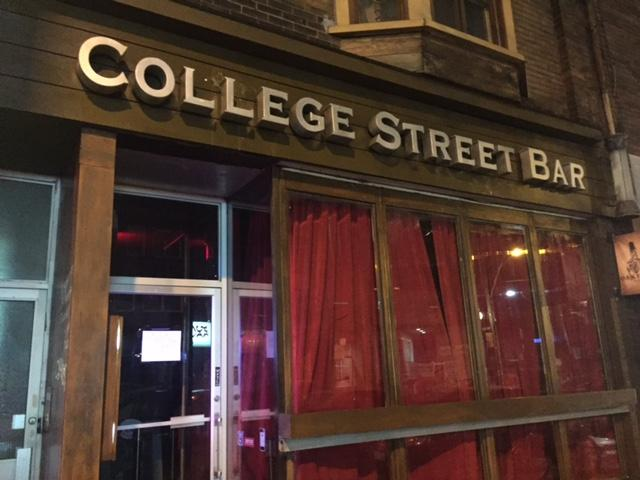 One of the bar's owners and an employee are accused of attacking female patron