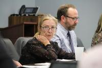 Town of Essex Director of Corporate Services and Treasurer, Donna Hunter, attends a special meeting of council focusing on proposed spending in the 2017 budget on January 30, 2017.