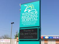 AM800-News-Windsor-Regional-Hospital-Sign