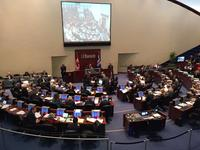 Toronto city council as the budget debate begins