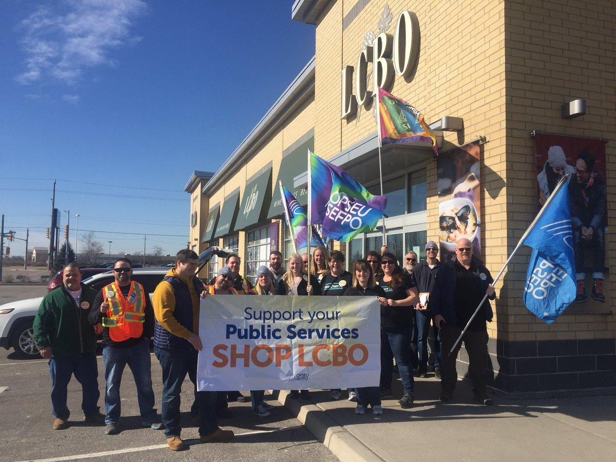 Pickets Planned For Windsor LCBO's