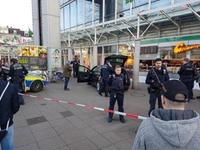 A man drove a car into pedestrians in a central square in the German city of Heidelberg