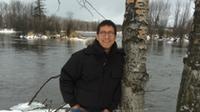 Ojibway author Richard Wagamese