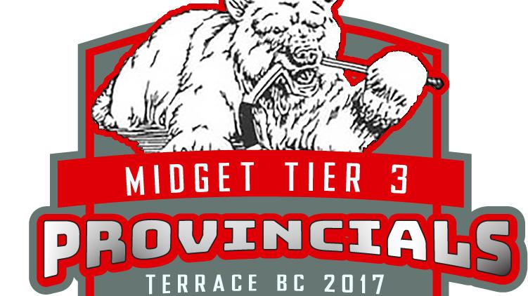 Terrace in this morning 39 s semi final at midget provincials for 7 summerland terrace