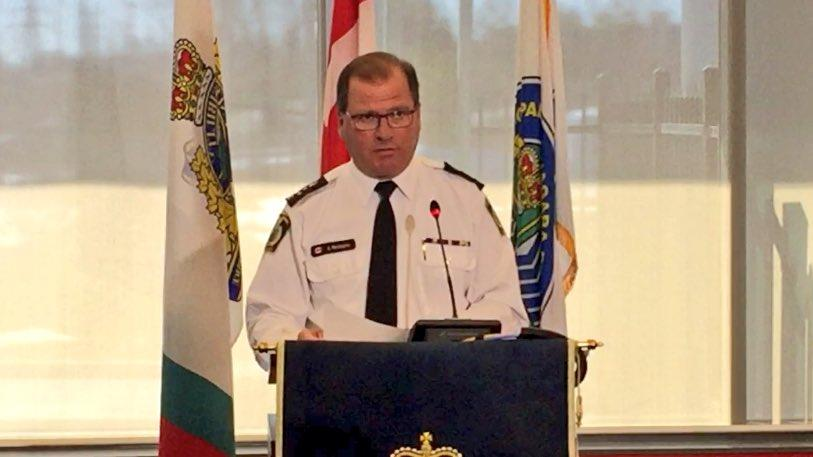 Niagara Regional Police Chief Jeff McGuire, March 22, 2017