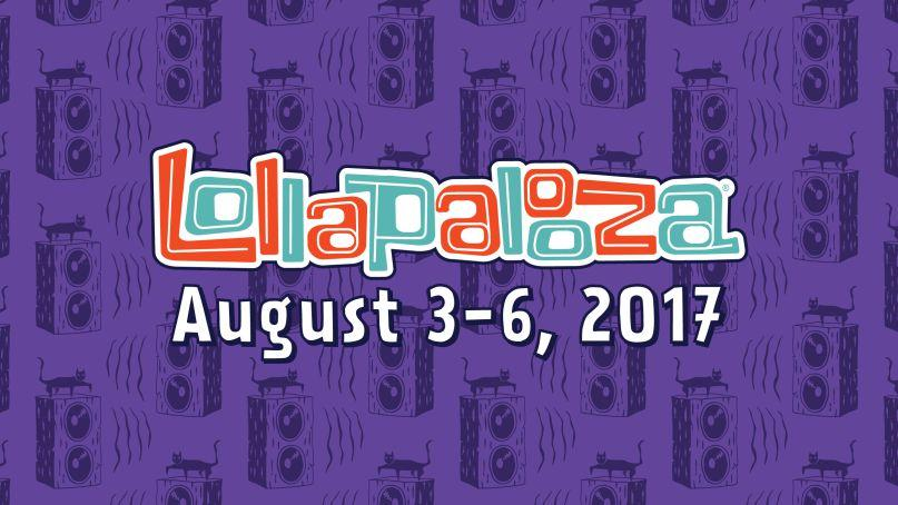 Lollapalooza Line Up ANNOUNCED