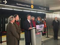 He says transit expansion falls squarely on the province since rejection of road tolls
