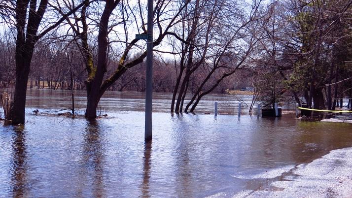 Spring Rainfall Prompts Rideau River Flood Watch