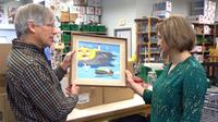 A rare Maud Lewis painting turned up in a New Hamburg, Ont. thrift store (CTV Atlantic)
