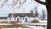 Fort Anne National Historic site is seen in Annapolis Royal, N.S. on Saturday, March 18, 2017. A recent CBC mini-series claims that Samuel de Champlain built the first European settlement in 1608 in what is now Quebec City but the first European settlement was established in nearby Port Royal, N.S., three years earlier in 1605. (THE CANADIAN PRESS/Andrew Vaughan via CTV Atlantic)