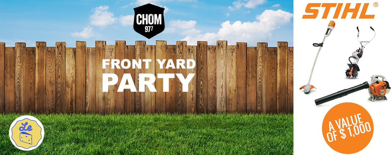 CHOM's Front Yard Party