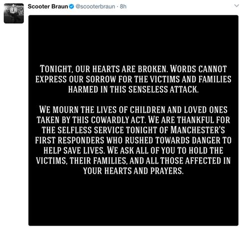 UPDATED: Ariana Grande 'Broken' After Deadly Bombing At Concert