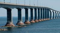 The Confederation bridge is pictured on Tuesday, Aug., 13, 2013. (Jonathan Hayward / THE CANADIAN PRESS via CTV Atlantic)