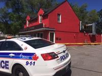 Ottawa police cordon off the property around 1775 Carling Avenue, as detectives look for answers in what's being called a