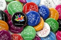 Canada 150 buttons
