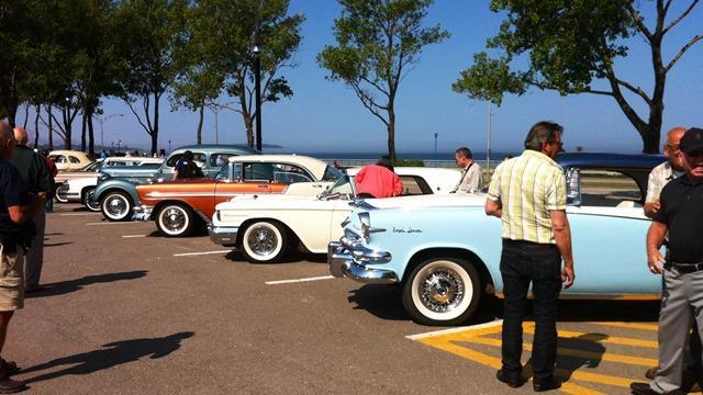 les voitures anciennes de retour au centre-ville de rimouski