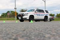 Durham Regional Police vehicle