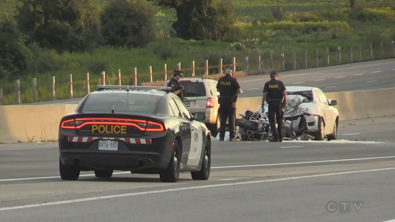 OPP identify motorcyclist killed in crash on Highway 401