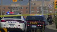 OPP officer hit by vehicle in Mississauga on Hurontario Street near Hwy 403