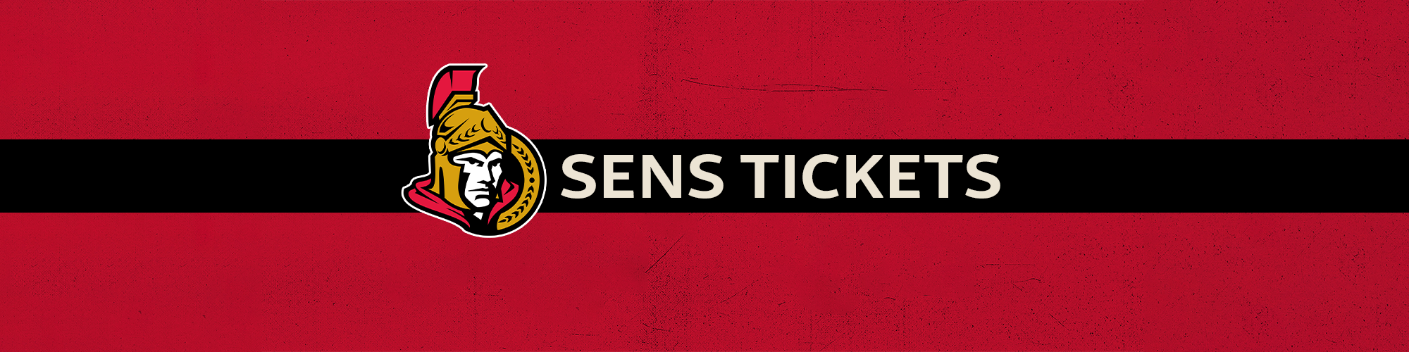 Ottawa Senators Tickets 2017-2018 pre-season contest banner