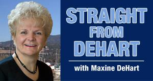 AM 1150 - Straight From DeHart - Front page banner