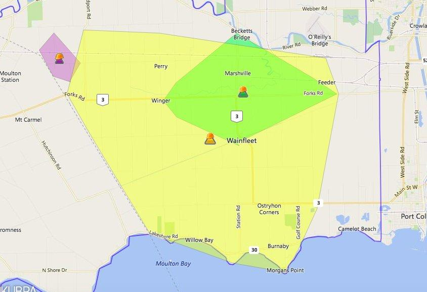 Multiple power outages across Niagara