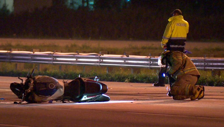 Fatal motorcycle accident in Mirabel