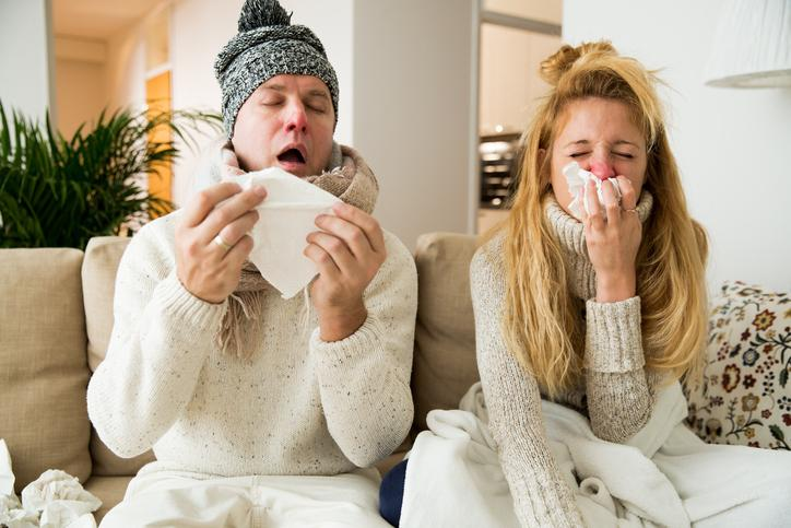 CKTB NEWS - flu season, colds, sick