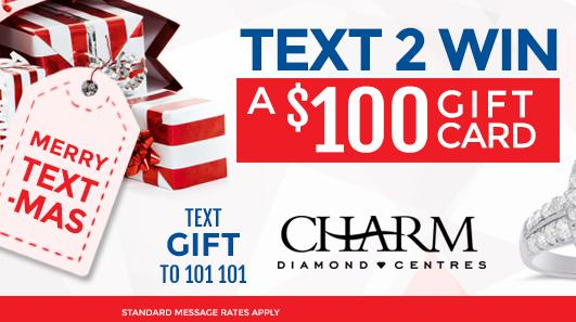 Win with Charm Diamond Centres!