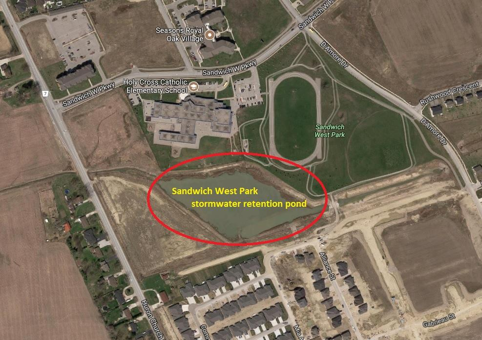 AM800-NEWS-Sandwich-West-Park-retention-pond