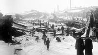 1917 Halifax Explosion - worst human-made disaster in Canadian history. (Photo courtesy CTV News)