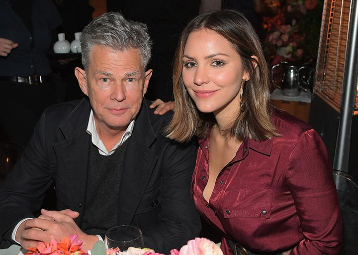 Canada S David Foster Vacations With Katharine Mcphee