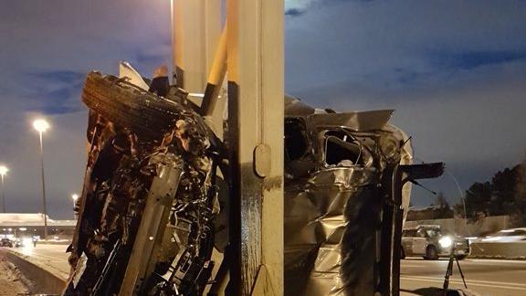 UPDATE: Two people killed in horrific Hwy 401 crash